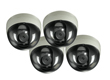 4 PCS M7 indoor dome 550/600 TVL wireless network camera