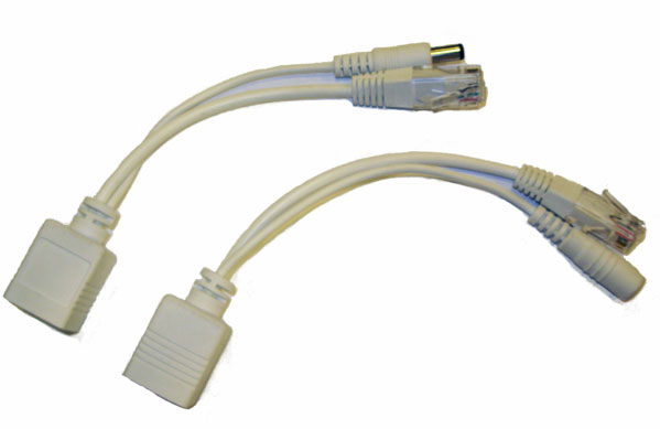 Passive POE Injector/Splitter Set