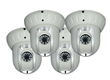 4 pcs M7 550/600 TVL pan and tilt dome wireless network camera