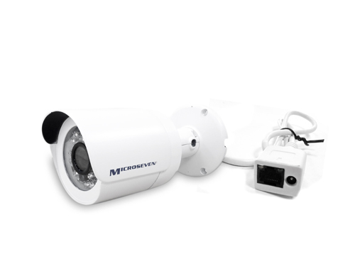 "M7B1080-POE HD 1.3MP 1080P 1/3"" Aptina CMOS 3.6mm 3MP Lens Outdoor Build-in POE IP Camera IR P2P -Compatible with any ONVIF NVR/Free Live Streaming on microseven.tv"