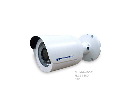 "M7B15POE-HOME HD 1.3MP 960P 1/3"" Aptina CMOS 3.6mm 3MP Lens Outdoor Build-in POE IP Camera IR P2P -Compatible with any ONVIF NVR/Free Live Streaming on microseven.tv"