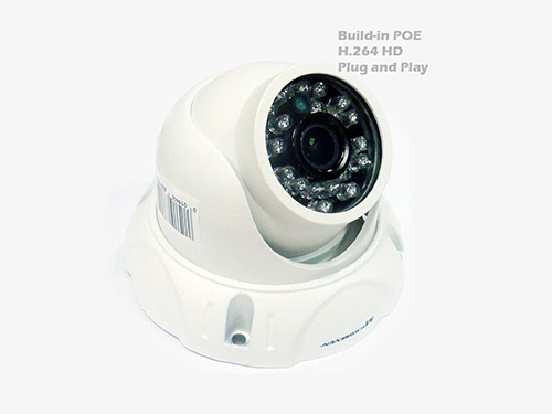 "M7D12 POE-HOME 1.3MP HD 960P 1/3"" Aptina CMOS 2.8 mm 3MP Lens Plug and Play IP Camera Build-in POE Outdoor-Compatible with Any ONVIF NVR/Free Live Streaming on microseven.tv"