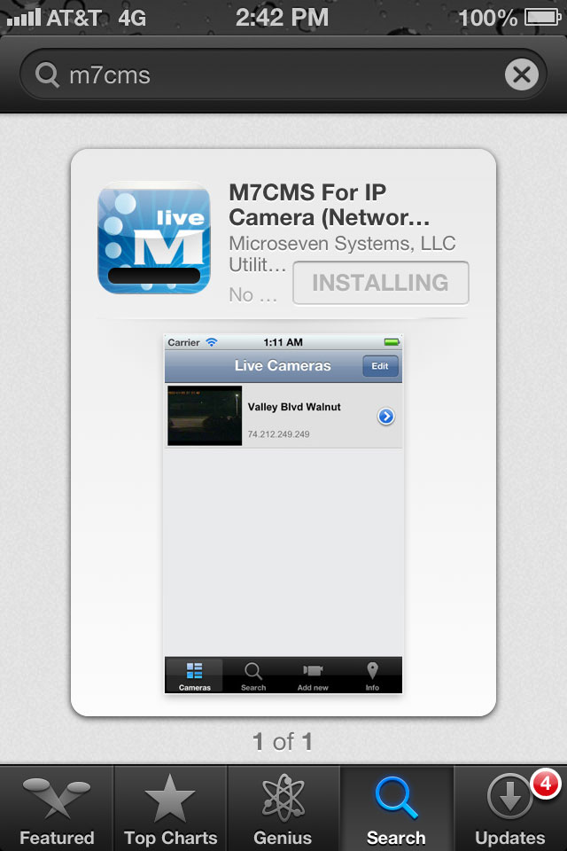Install M7CMS on your iPhone