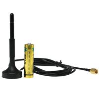 Antenna with Magnetic Base 5ft L100 Cable 700-960/1710-2170MHz 1/2dBi SMA Male with 5ft L100 Cable
