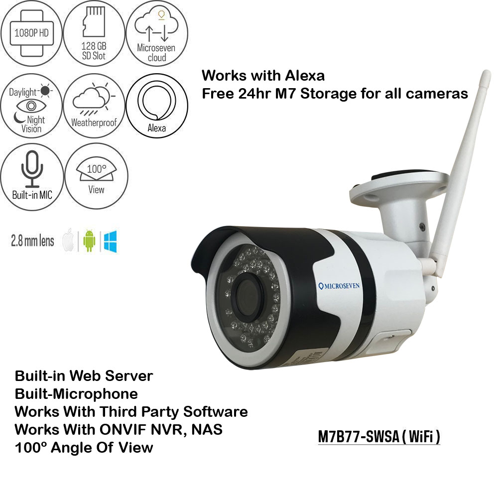 IM (Brand )1080P WiFi IP Camera, Wireless Surveillance Home Security Dome Cameras, Indoor PTZ 4X Digital Zoom Baby Pet Shop Monitor with Android iOS APP, PC Viewing, 2 Two-Way Audio Day & Night, Motion Detection Pet Camera  128GB SD Slot