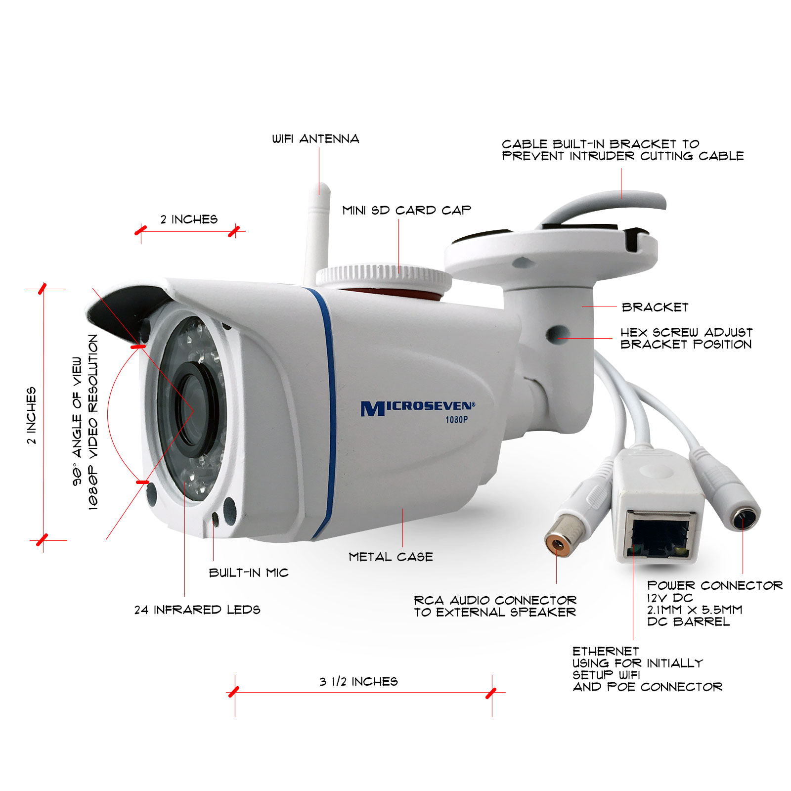 IP Cameras - Network Cameras, IP Camera, Security Camera microseven ...