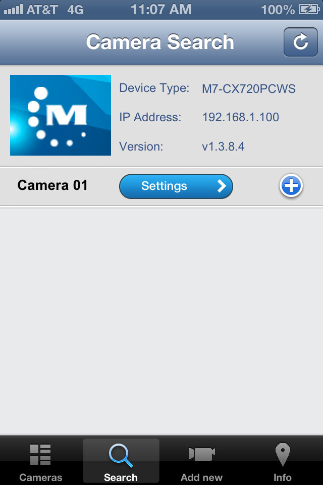 M7 Cameras on your local network