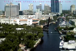 New River in Ft. Lauderdale from Esplanade Condo